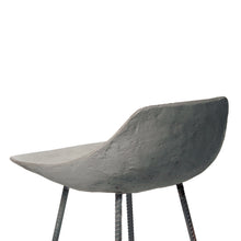 concrete counter chair