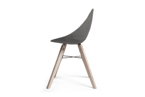 concrete plywood chair
