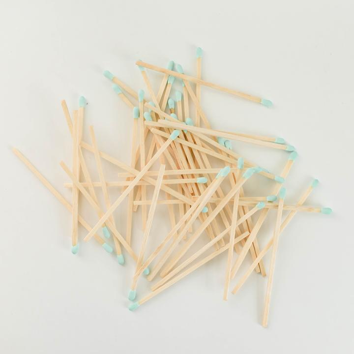 safety matches in glass jar