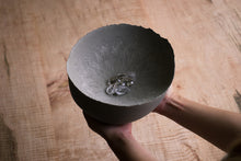 concrete sculptural bowl