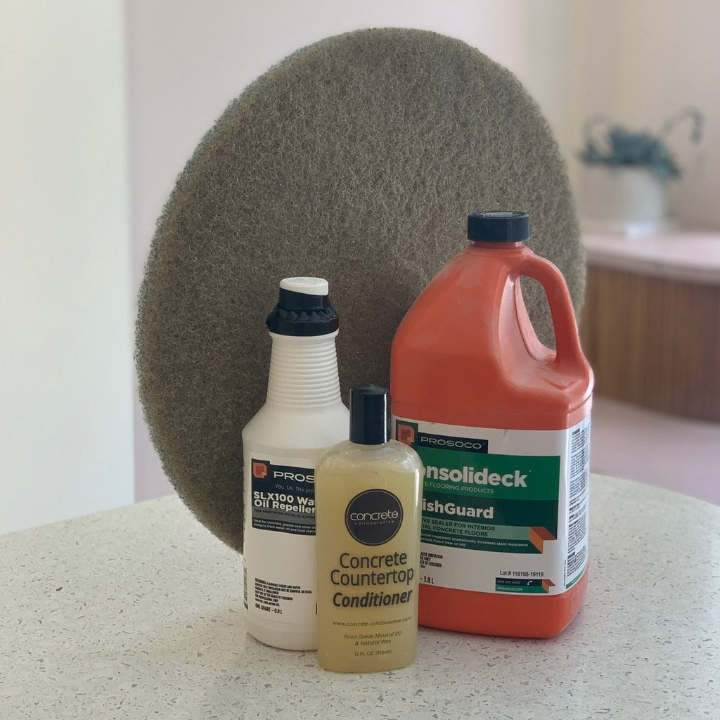 concrete care  //  countertop conditioner