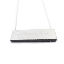 concrete industrial necklace black
