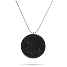 concrete diamond dust necklace