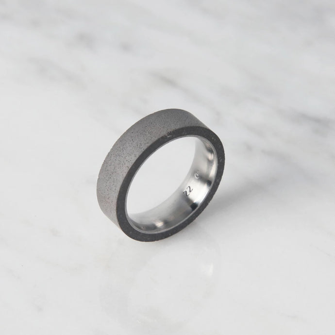 concrete thin tube ring