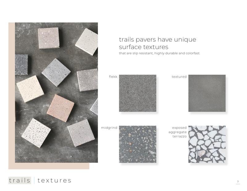 trails // exterior pavers