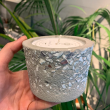 lowcountry tabby concrete candle