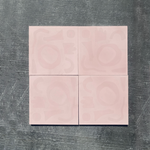 mono pink // box of 13 tiles // alex proba x