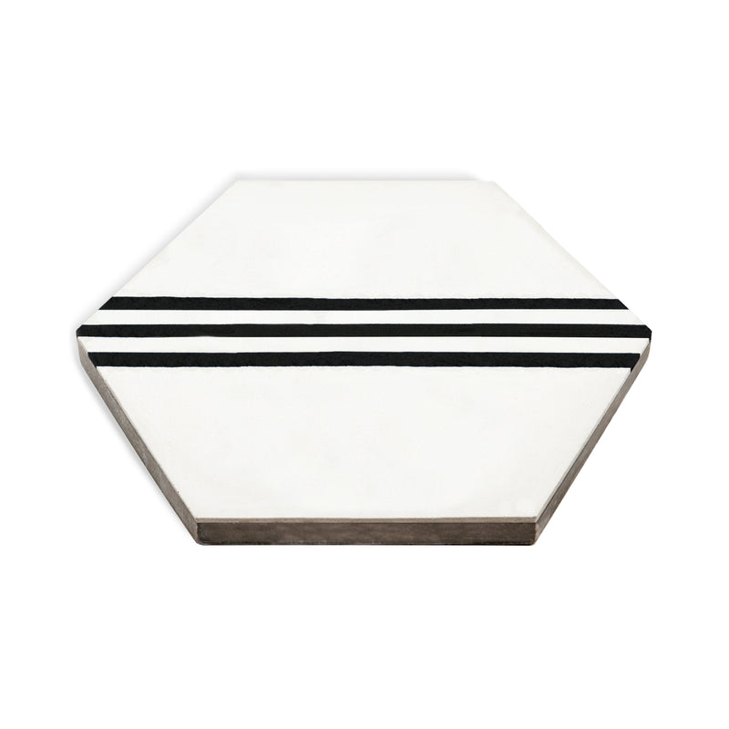 hex racing stripe  //  box of 12  //  geo x