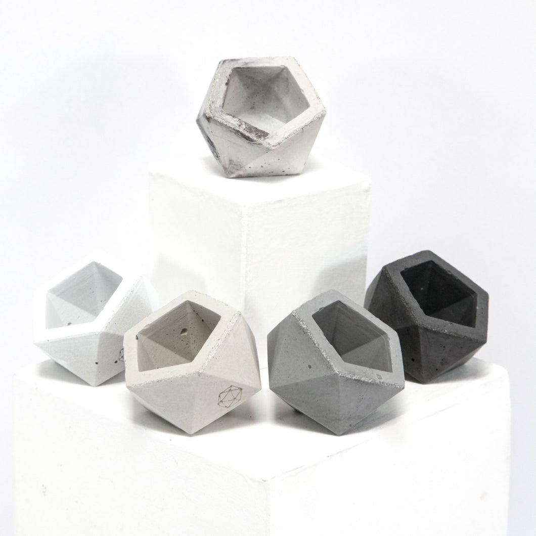 concrete mini ico vessel