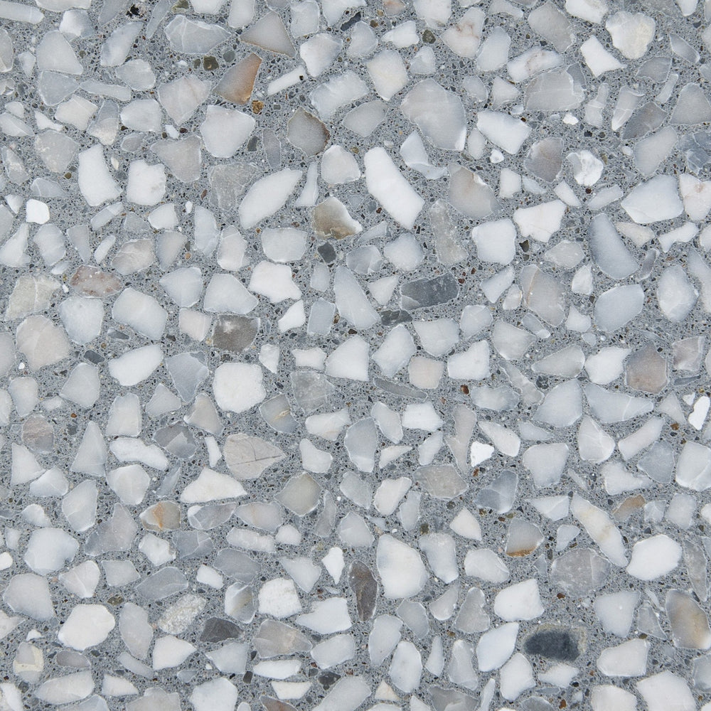 pewter marble chip
