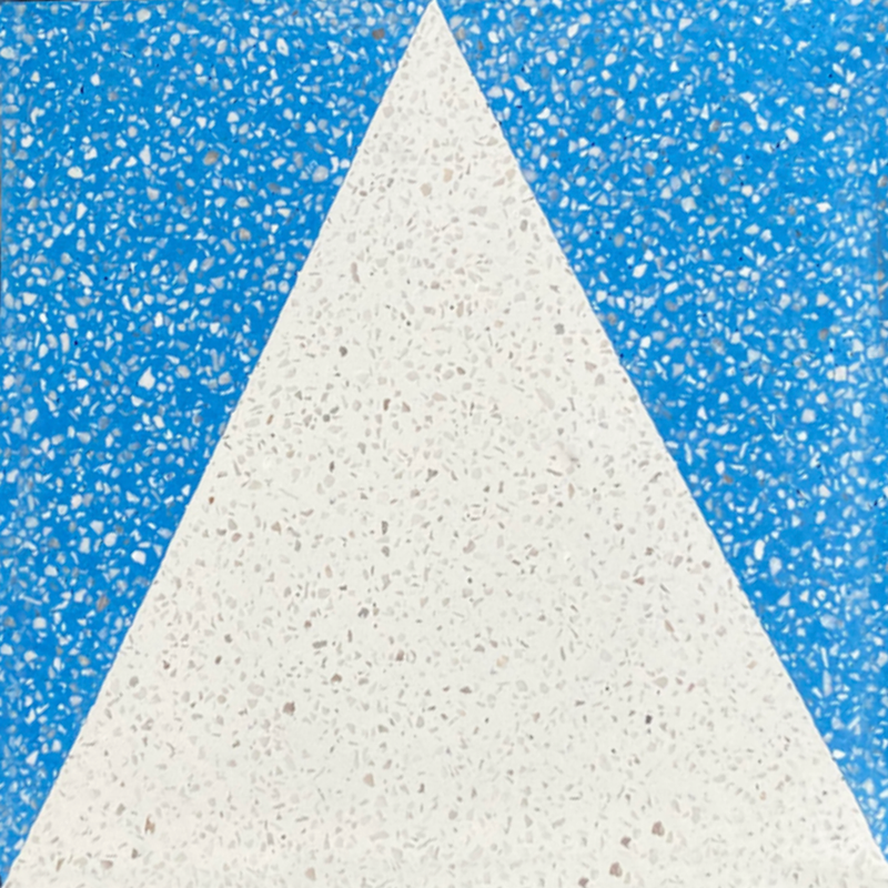 large triangle  //  box of 13  //  geo x terrazzo