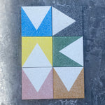 small triangle  //  box of 13  //  geo x terrazzo
