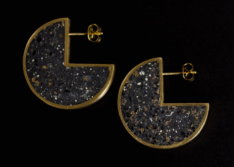 radii stud earrings
