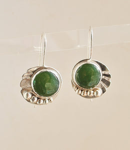 Gaia - Jade earrings  SOLD
