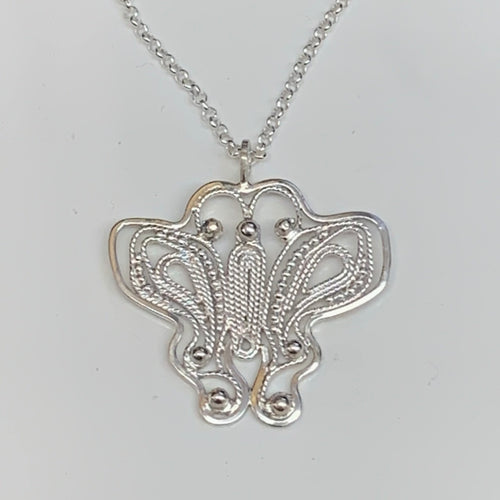 Ascend - Butterfly in Sterling silver