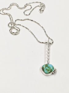Unwavering - 2.55 CT Sonoran Gold Turquoise necklace