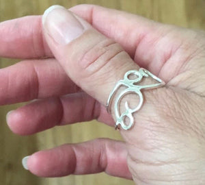 Growing Forward-thumb ring