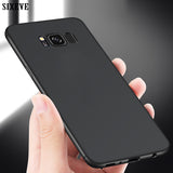 SIXEVE Ultra Thin Cell Phone Case For Samsung Galaxy S6 S7 Edge S8 S9 Plus S8Plus S9Plus Duos Shockproof TPU Silicone Back Cover