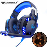 KOTION Gaming Headphones Headset Deep Bass Stereo
