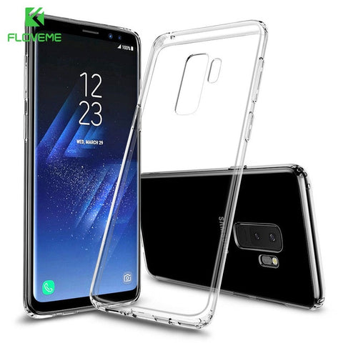 FLOVEME Case For Samsung Galaxy Note 9 8 S9 S8 Plus S7 Edge HD Clear Soft TPU Phone Cases For Samsung A5 A3 A7 2017 Cover Capa