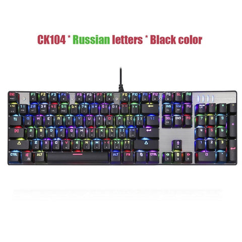 Motospeed CK104 Gaming Mechanical Keyboard