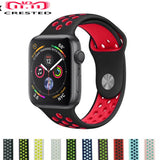 CRESTED Sport strap For Apple Watch Band 44mm/40mm