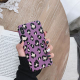 Fashion Colorful Leopard Print Phone Case For iphone XS Max XR X Case For iphone 6 6s 7 8 plus Back Cover Luxury Soft Cases Capa