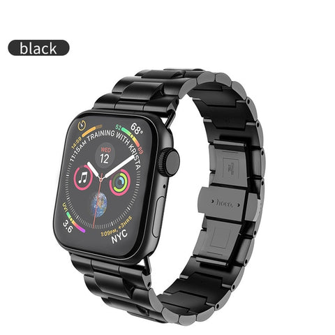 HOCO Stainless Steel Strap for Apple Watch Band 40mm 44mm