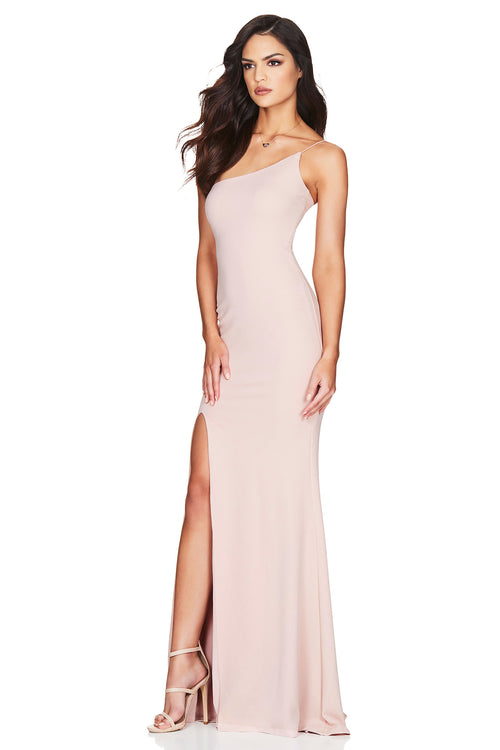 NOOKIE JASMINE ONE SHOULDER GOWN