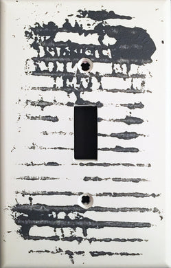 77 Abstract Painted Light Switch Cover
