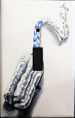 Tampon Painted Light Switch Cover