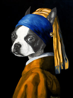 The Dog With A Pearl Earring