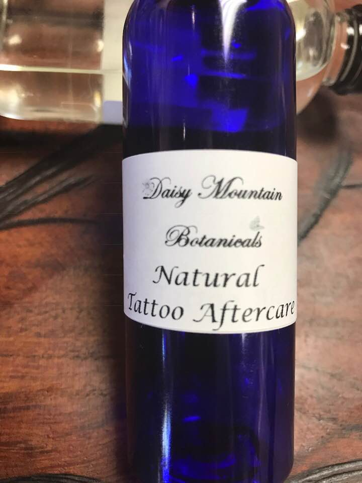 Natural Tattoo Aftercare