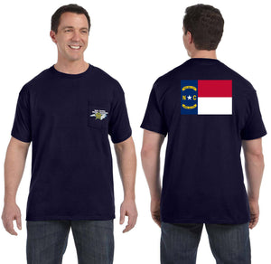 NCSA Pocket T-Shirt - Navy