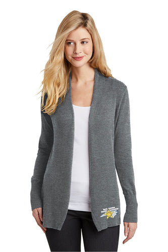Ladies Port Authority Open Front Cardigan Sweater