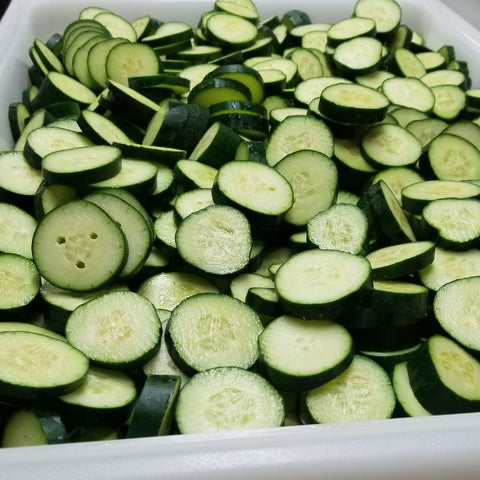 Locally sourced organic cukes