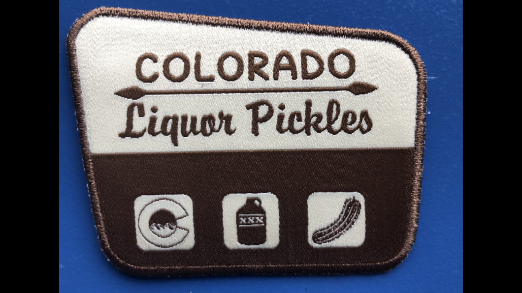CLP PARK PATCH - COLORADO LIQUOR PICKLES