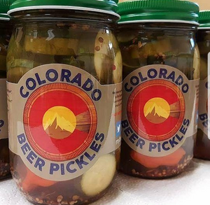 BEER PICKLES - COLORADO LIQUOR PICKLES