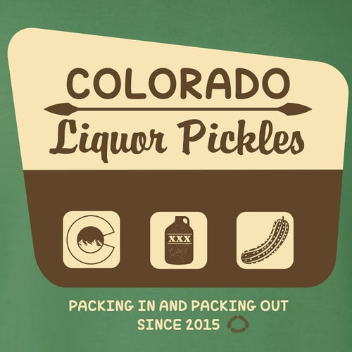 National Park Inspired T-Shirt - COLORADO LIQUOR PICKLES