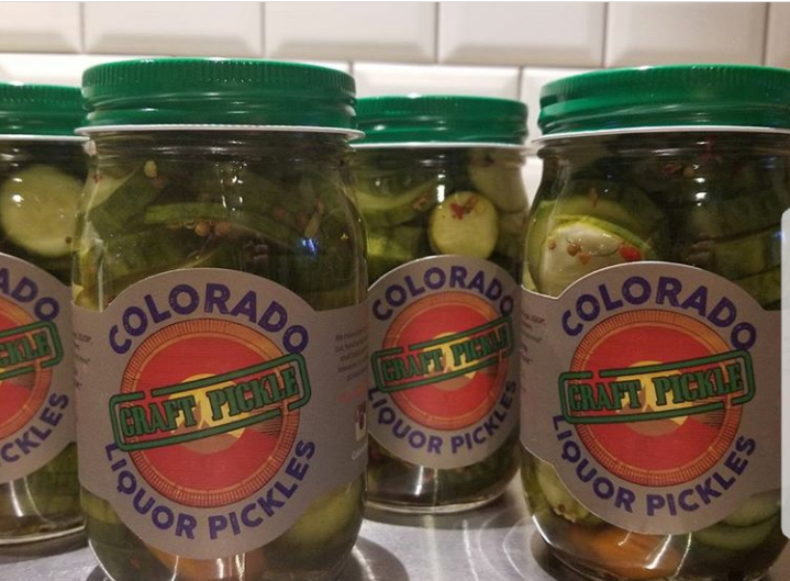 Gin Pickles - COLORADO LIQUOR PICKLES