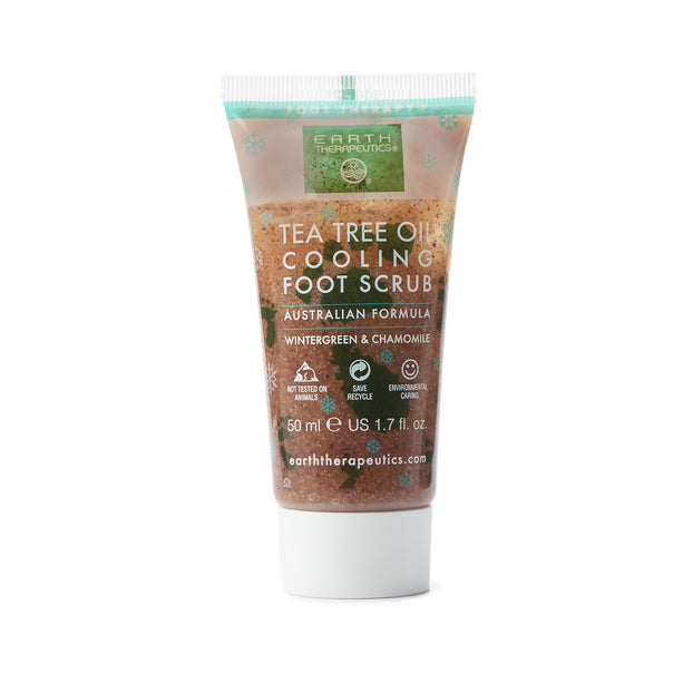 Tea Tree Oil Cooling Foot Scrub- trial Front