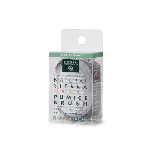 Natural Sierra Pumice Brush PKG-front