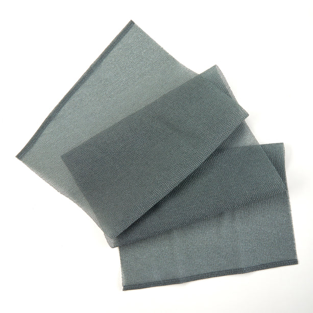 Charcoal Exfoliating Towel - Pure Black hydro towel-charcoal