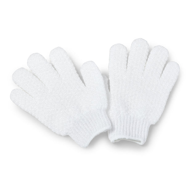 Exfoliating Hydro Gloves Hydro gloves-white