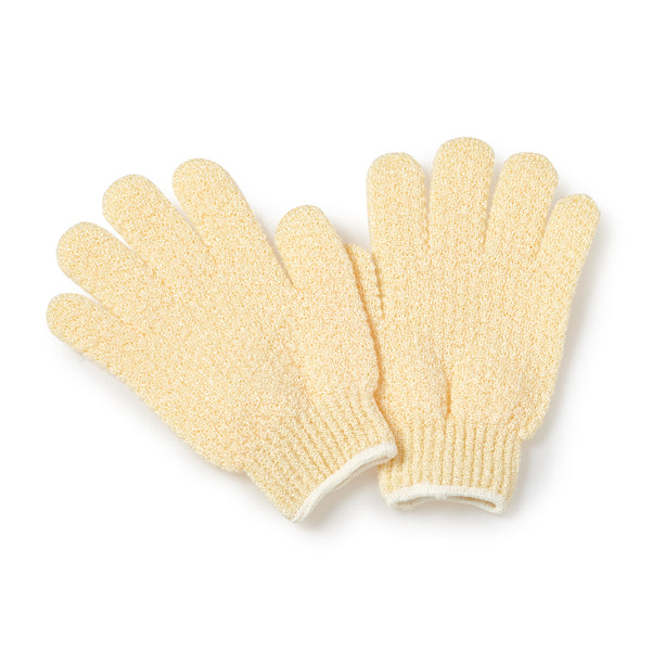 Exfoliating Hydro Gloves hydro gloves-natural