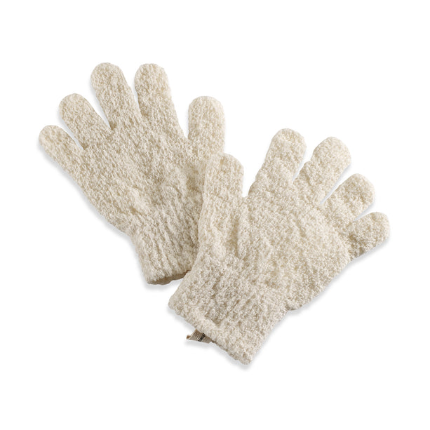 Organic Cotton Exfoliating Hydro Gloves