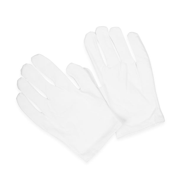 Moisturizing Hand Gloves Solid Color - white moistz gloves-white
