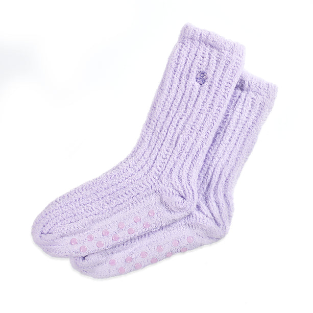 Cozy Socks with Shea Butter Cozy Socks-lavender