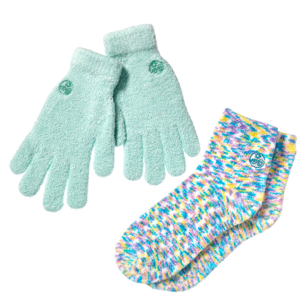 Aloe Gloves/Socks Combo Set