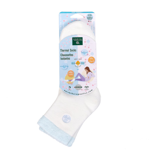 Thermal Double Layer Socks PKG-blue